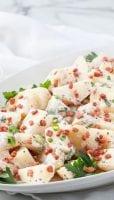 Bacon Bits on Potato Salad