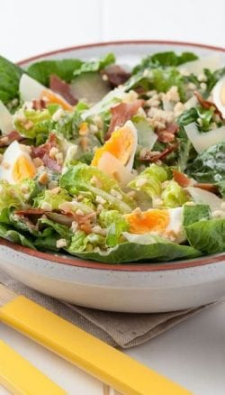 Caesar Salad toppers with Belladotti Caesar Bits