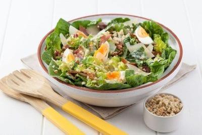 Caesar Salad toppers with Belladotti Caesar Bits