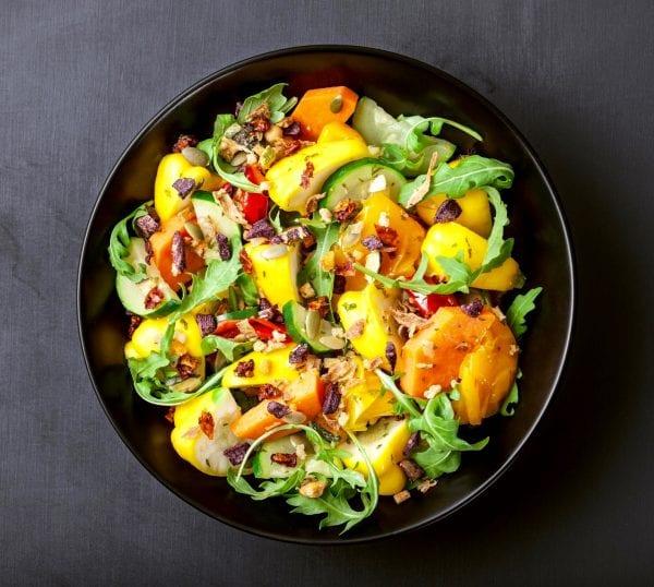 Tusan Garden Salad Sprinkles on salad
