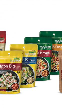 Salad Toppers range