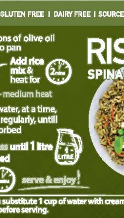 Spinach Cooking Instructions