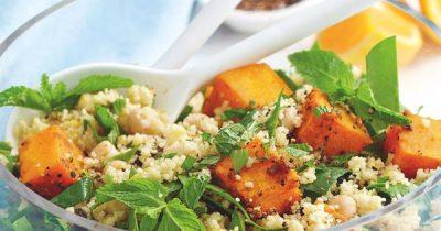 Roast Pumpkin And Couscous Salad